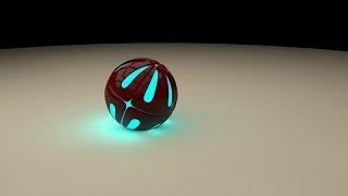 Урок по 3D графике|Как сделать светящийся эпик шар|Cinema 4D