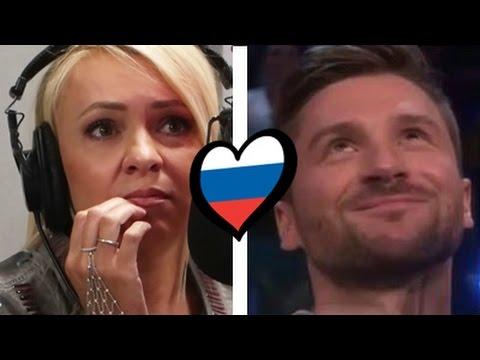 Финал Евровидения 2016 с Яной Рудковской