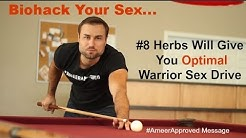 Biohacking Your Sex: 8 Herbs That Will Give You Optimal Warrior Sex Drive