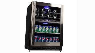 Magic Chef Dual Zone Digital Wine and Beverage Cooler- MCWBC77DZC Thumbnail