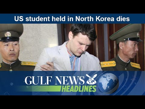 US student held in North Korea dies - GN Headlines