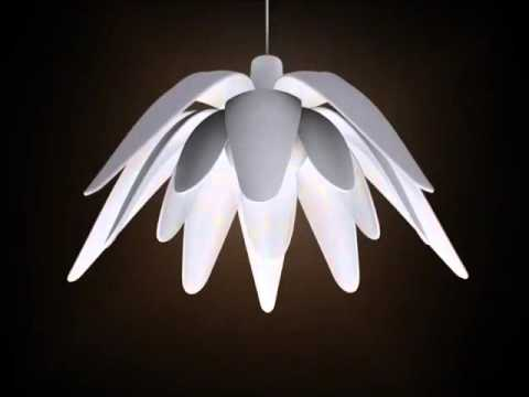 LULL A lamp that open and closes like a flower