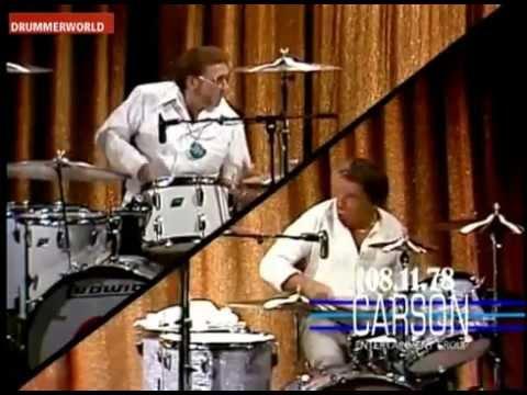 Buddy Rich Vs Ed Shaughnessy Amazing Drum Battle!!