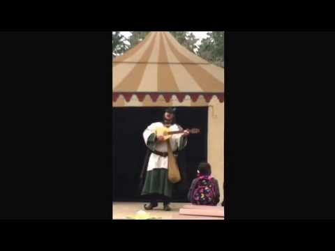 Coleman Grey sung at Sherwood Forest Faire  Allan ADale