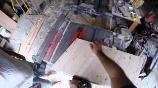 Making A Coffee Table From A Treehouse (gopro)