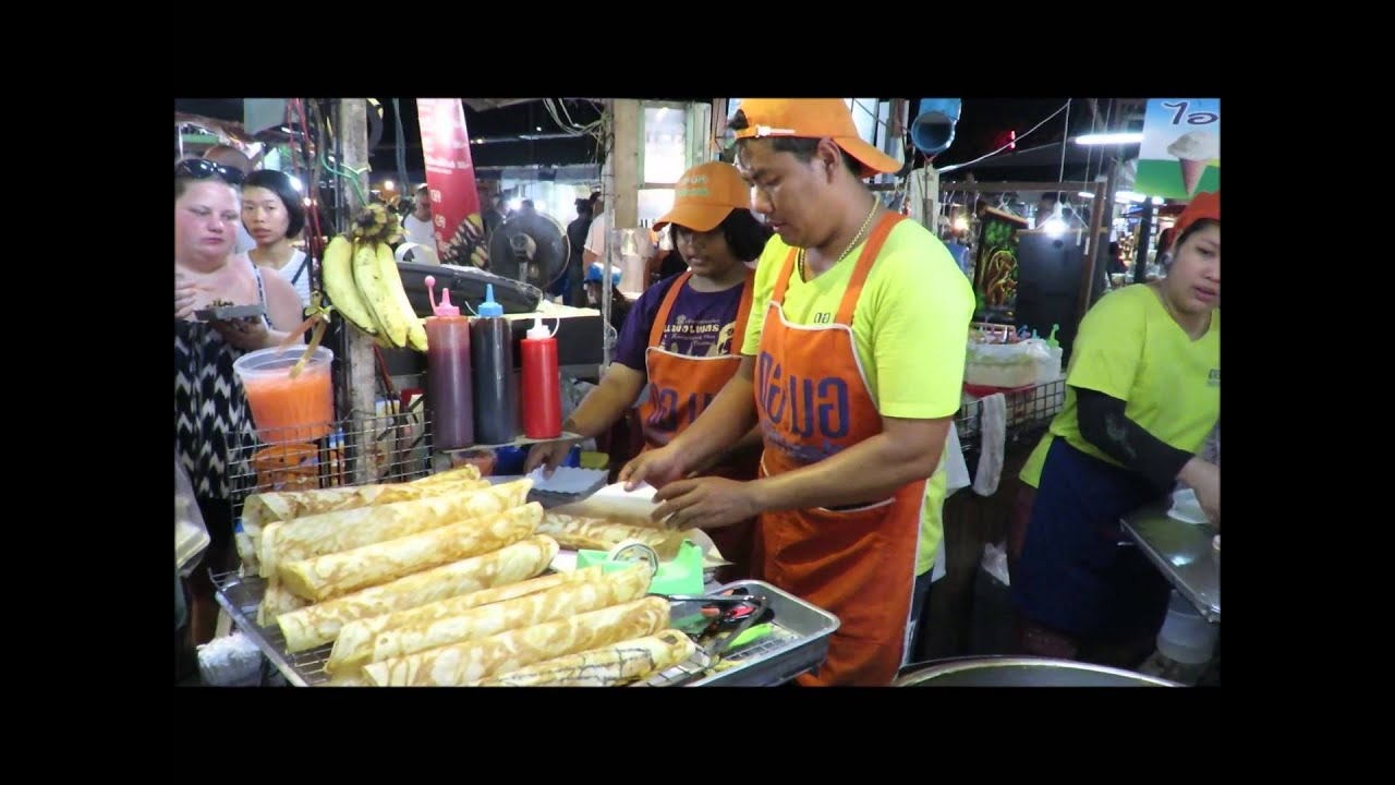 NEW THAI RECIPE CRISPY ROTI PANCAKE BANANA ROLL ROTI EGG ...