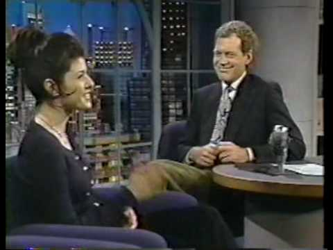 Marisa Tomei on Late Night 1993