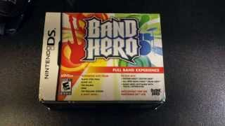 Band Hero DS :UnBoxing