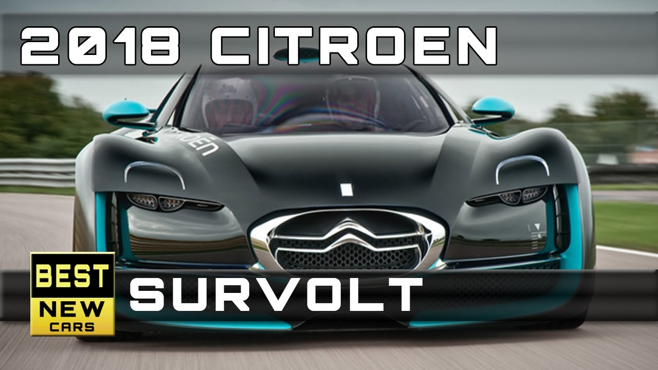 2018 Citroen Survolt Release Dates and Prices - YouTube