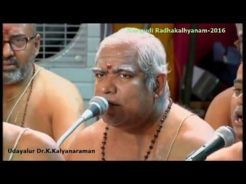 193-19th Ashtapadi...Udayalur Kalyanaraman - Alangudi Radhakalyanam 2016