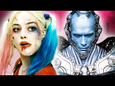 10 Popular Superhero Movie Characters Not Based On Comic Books (Harley Quinn, Mr Freeze and more!)