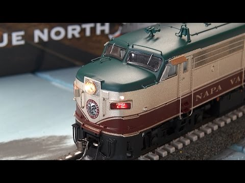Review: Rapido HO Scale FPA-4 w/DCC & ESU LokSound Napa Valley Wine Train