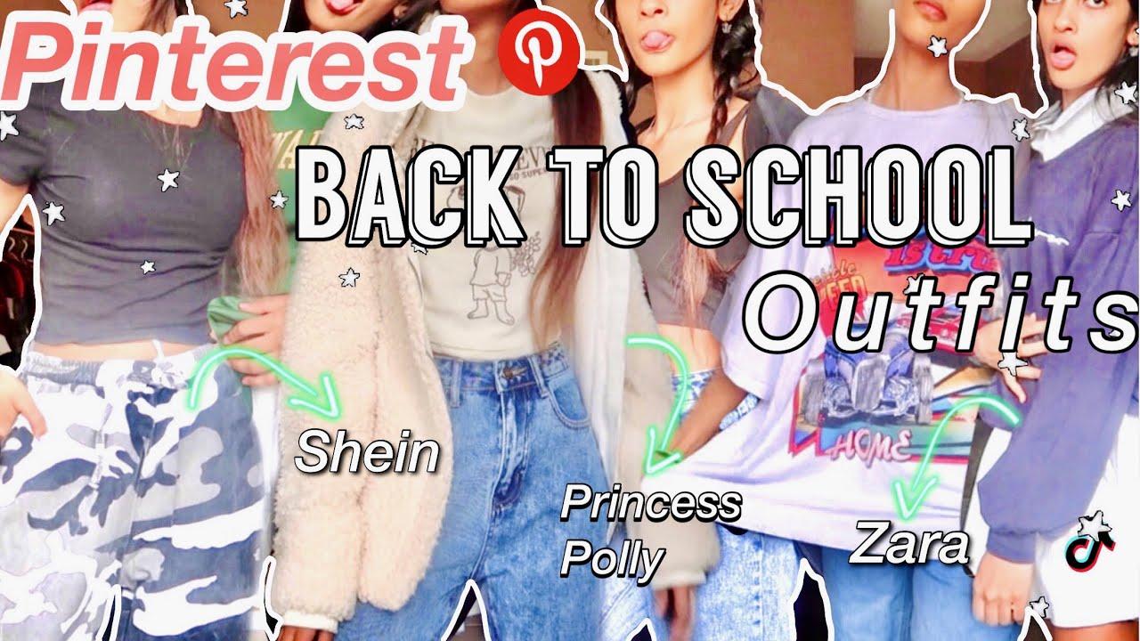 trendy back to school outfit ideas 2021|Pinterest &TikTok inspired