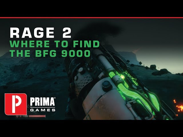 Rage 2 BFG Location: How to get the DOOM weapon in Rage 2 and unlock