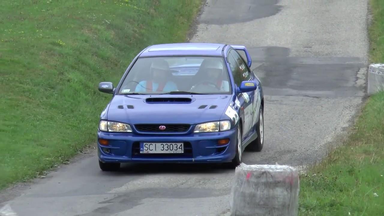 Super Sprint Lipowiec 2017 – Grzegorz Fujcik / Tomasz Sztymon – Subaru Impreza