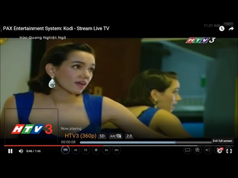 PAX Entertainment System : Kodi - Stream Live TV
