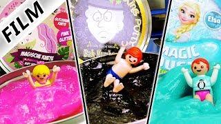 Playmobil Film Deutsch HANNAHS EINHORNBAD, EMMAS ELSABAD & JULIANS UNGLÜCKSBAD! Familie Vogel