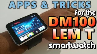 DM100 LemT Smartwatch: Apps & Tricks