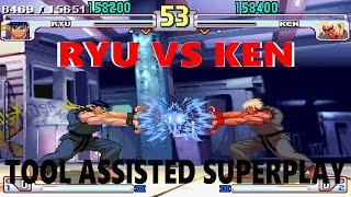 [TAS] - Street Fighter III: 4rd Strike Arranged Edition - Ryu Vs. Ken