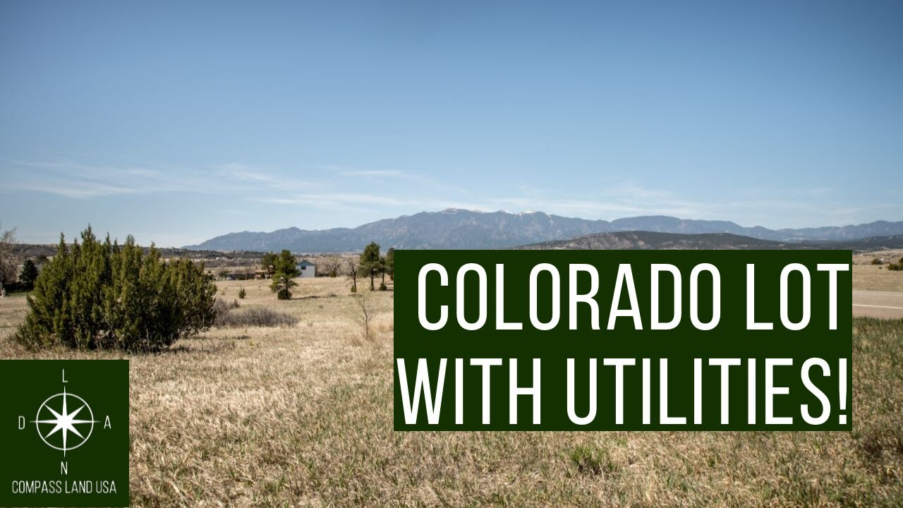 Sold by Compass Land USA - Quarter Acre Buildable Colorado Land with Utilities
