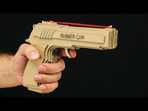 Simple Method -  Amazing Rubber Band Gun