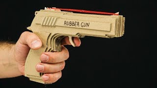 Simple Method -  Amazing Rubber Band Gun