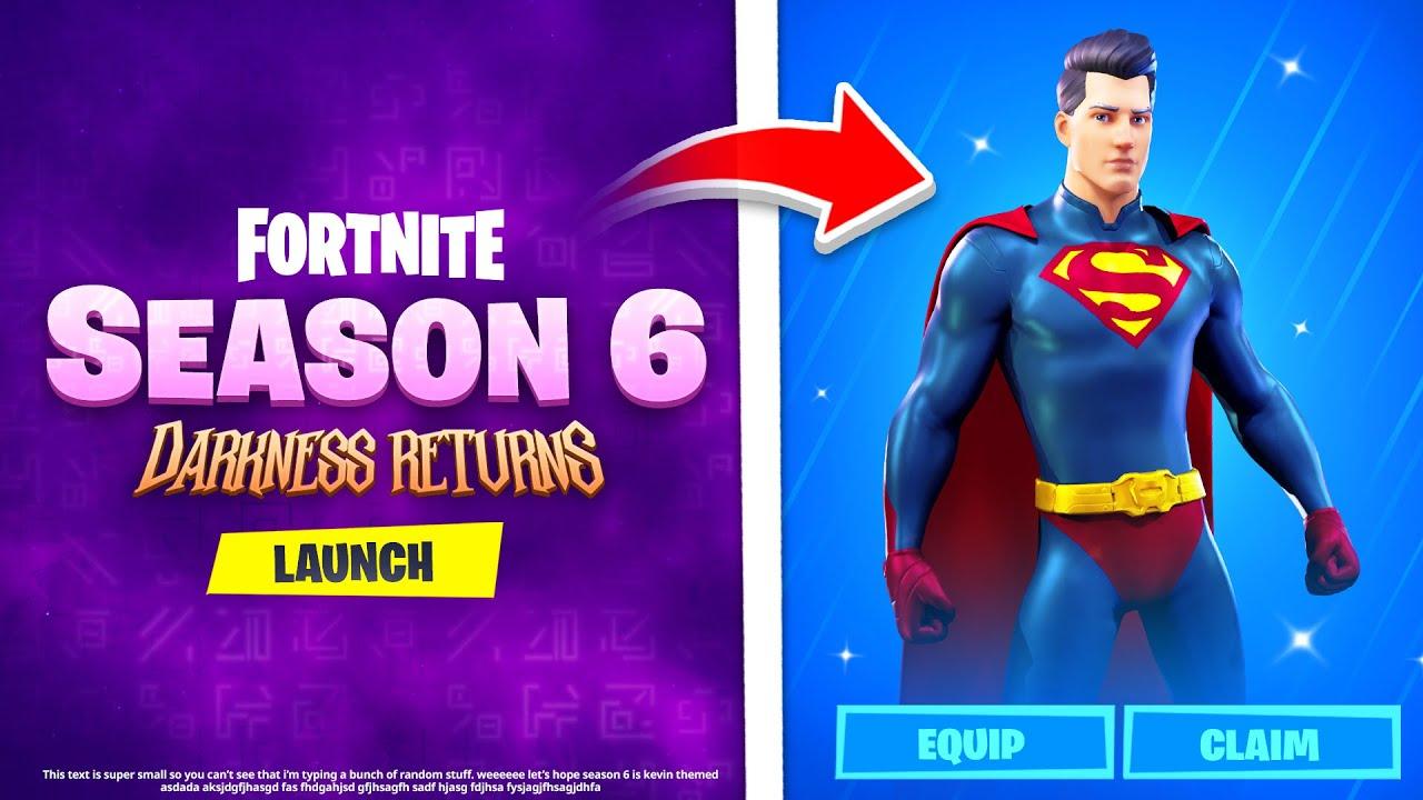 Season 6 Fortnite Account For Sale Fortnite Leaks New Season 6 Npcs Loot Trading System Zero Point Goes Boom And More