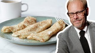 Alton Brown Makes Crepes 3 Ways | Food Network