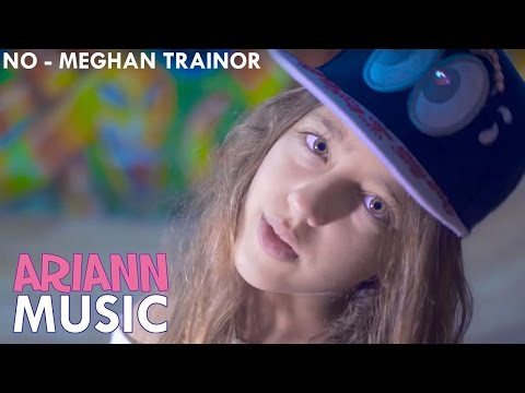 NO  Meghan Trainor    ARIANN 10 Years old   Easy Dance Choreography Fitness and Lyrics
