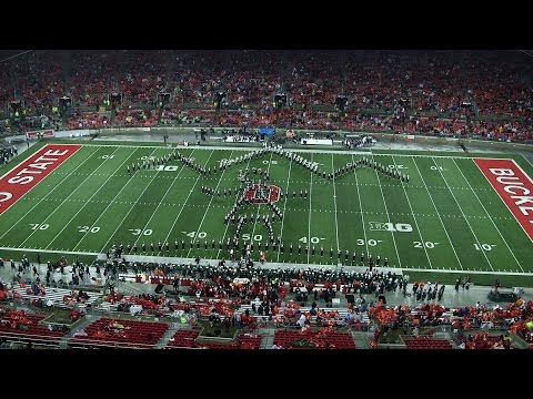 The Ohio State Marching Band Nov. 21 halftime show: The Sound of Music