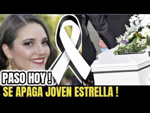🔴LAMENTABLE NOTICIA ! SUCEDIO HOY ! Luto en el Espectaculo ,Fallece ENTRAÑABLE ACTRIZ, Ultima Hora !