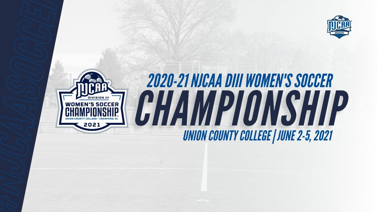 2021 NJCAA Division III Women's Soccer - Bracket Reveal