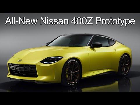 All-new Nissan 400Z Prototype //  The next Z-Car