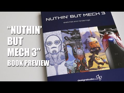 Nuthin' But Mech 3 concept at book review 4K