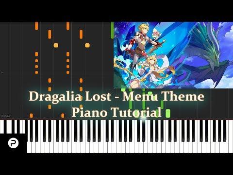[Synthesia] Menu Theme (Bokura No Network) - Dragalia Lost