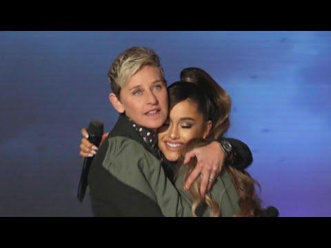Behind Ariana Grandes Interview Mishap on Ellen