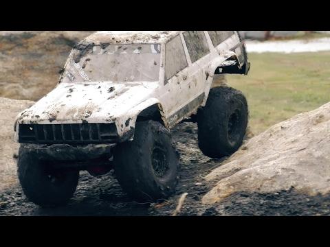 Pitbull Rock Beast XL Tires on Axial SCX10II