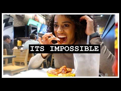 SCORPION HOT WING CHALLENGE! | ChandlerAlexisVlogs #33