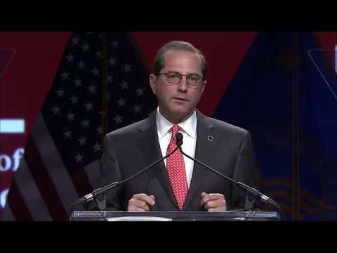 HHS Secretary Alex Azar Addresses FAH Public Policy Conference and Business Exposition