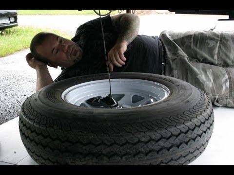 Rv Spare Tire Relocation Youtube