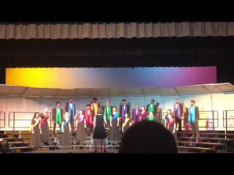 North Point High School Chamber Choir- Balleilakka- A.R. Rahman, arr. Ethan Sperry