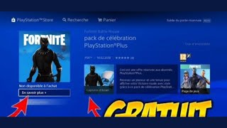 FREE PLAYSTATION PLUS #4 ON FORTNITE!