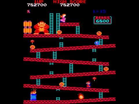 MAME Donkey Kong World Record Dean Saglio 1,206,800 HD