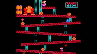 MAME Donkey Kong World Record Dean Saglio 1,206,800 HD