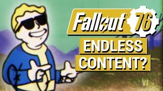 FALLOUT 76: Bethesda Says Fallout 76 Will Last FOREVER!! (NEW Interview Details)