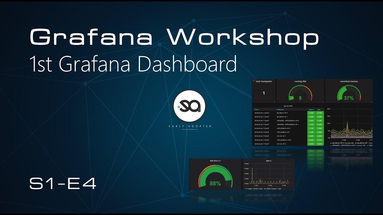 S1E4 - Grafana Workshop - 1st Dashboard