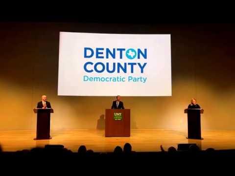Texas CD-26 Democratic Primary Debate