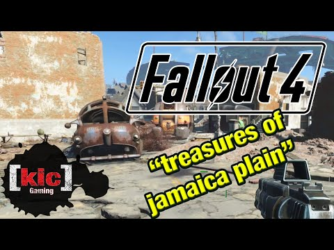 Treasures of Jamaica Plain mission walkthrough -- Fallout 4 quest gameplay