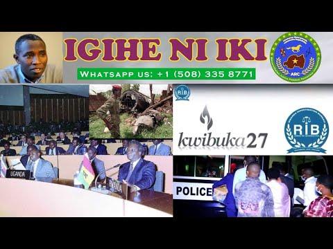 FPR Yashakaga Ubutegetsi Ku Ngufu, Arusha Yari Ikinamico
