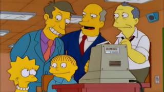 Gil tries to sell Coleco Computers - The Simpsons Gems